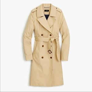 J.Crew collection size 16 The Icon trench coat